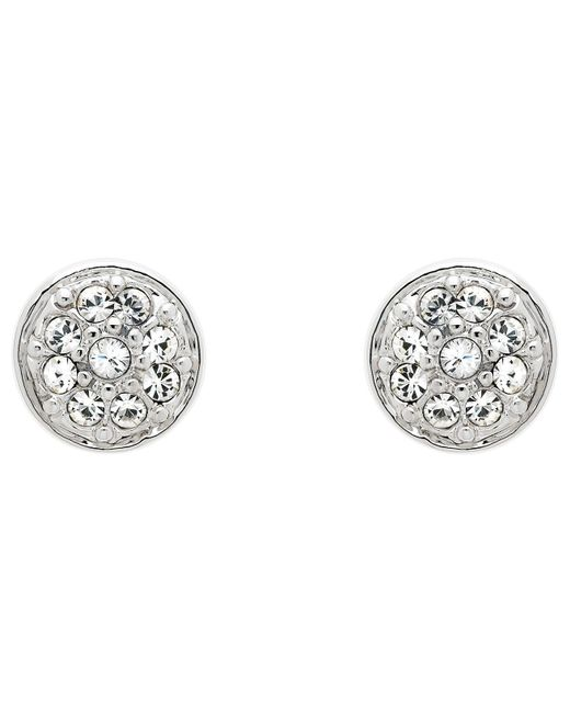 Melissa Odabash - Metallic Swarovski Crystal Pave Stud Earrings - Lyst
