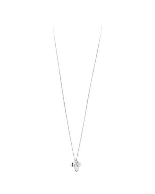 Dyrberg/Kern | Metallic Dyrberg/kern Swarovski Crystal Triple Pendant Necklace | Lyst