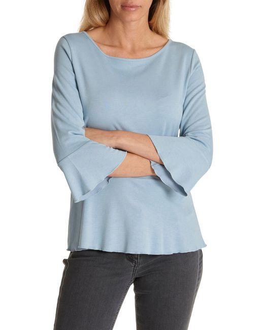 Betty Barclay - Blue Flared Jersey Top - Lyst