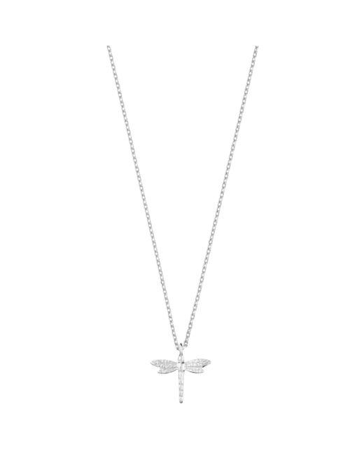Estella Bartlett - Metallic Dragonfly Pendant Necklace - Lyst
