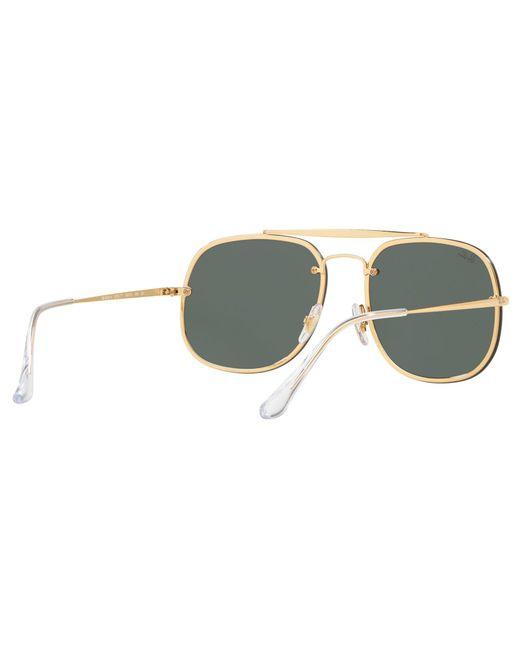 c213457c1c ... Ray-Ban - Green Rb3583 Unisex Square Polarised Sunglasses for Men -  Lyst ...