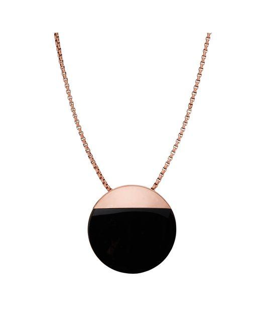 Skagen | Black Ellen Onyx Necklace | Lyst