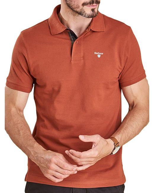 Barbour   Multicolor Tartan Pique Polo Shirt for Men   Lyst