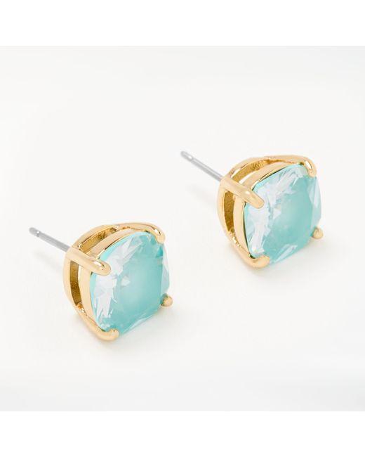 Kate Spade - Multicolor Mini Square Stud Earrings - Lyst