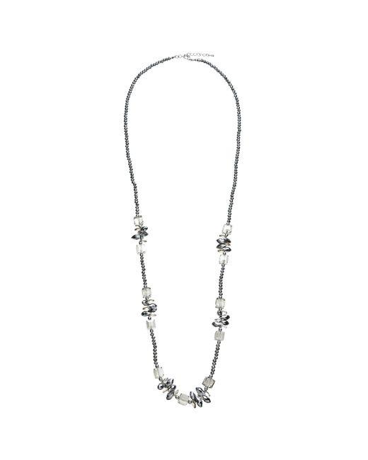 John Lewis | Metallic Long Single Strand Sparkle Bead Necklace | Lyst