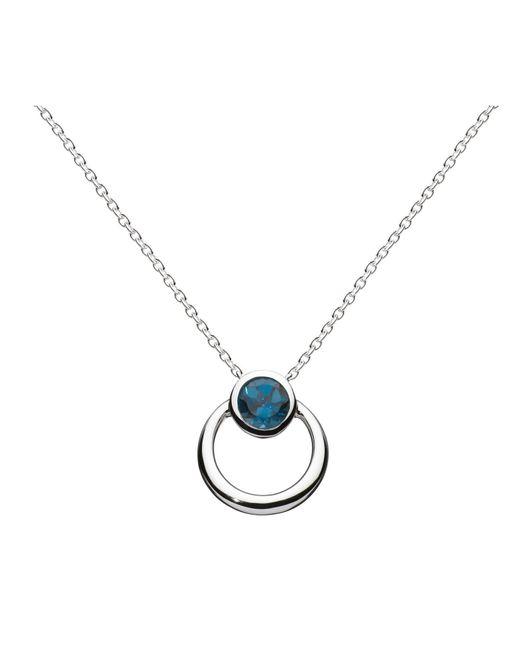 Kit Heath | Blue Simmer Loop Pendant Necklace | Lyst
