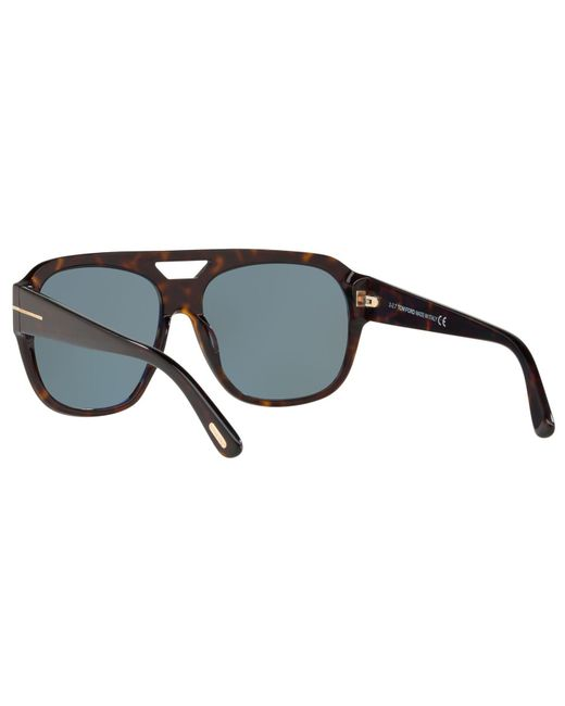 2645456a196f3 ... Tom Ford - Multicolor Ft0630 Unisex Bachardy-02 Square Sunglasses for  Men - Lyst ...