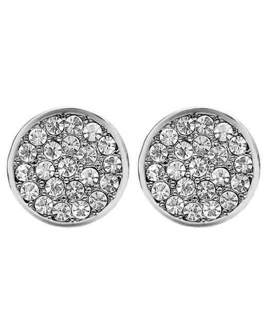 Dyrberg/Kern | Metallic Dyrberg/kern Maira Crystal Stud Earrings | Lyst