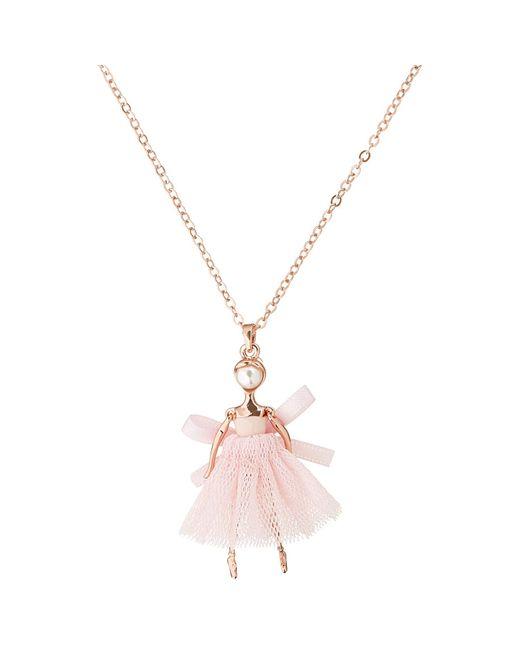 Ted Baker   Pink Carabel Mini Ballerina Pendant   Lyst