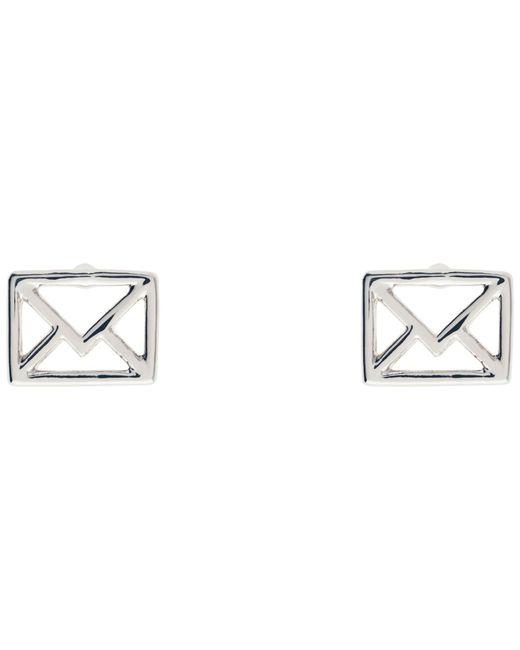 Ted Baker   Metallic Iciaa Love Letter Stud Earrings   Lyst