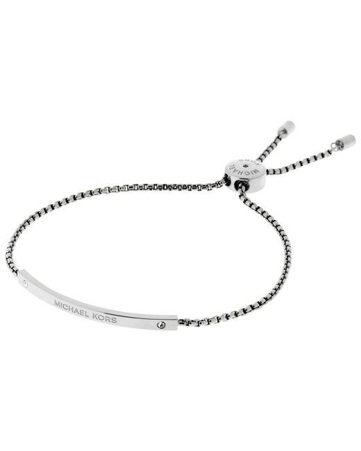 Michael Kors   Metallic Heritage Slider Extender Bracelet   Lyst