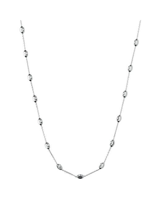 Links of London | Metallic Sterling Silver Beaded Chain Necklace | Lyst