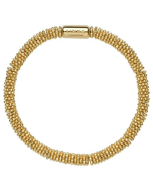 Links of London | Metallic Effervescence Star Extra-small Yellow-gold Vermeil Bracelet | Lyst