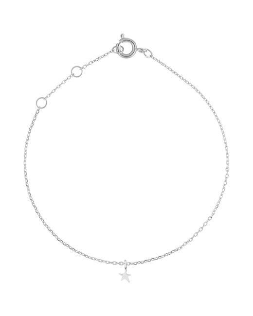 Estella Bartlett   Metallic Fine Sterling Silver Star Charm Bracelet   Lyst