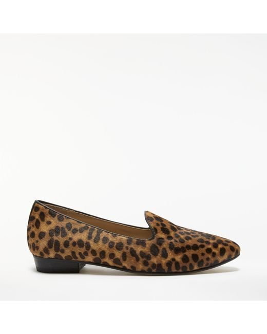 John Lewis   Brown Ginny Loafers   Lyst