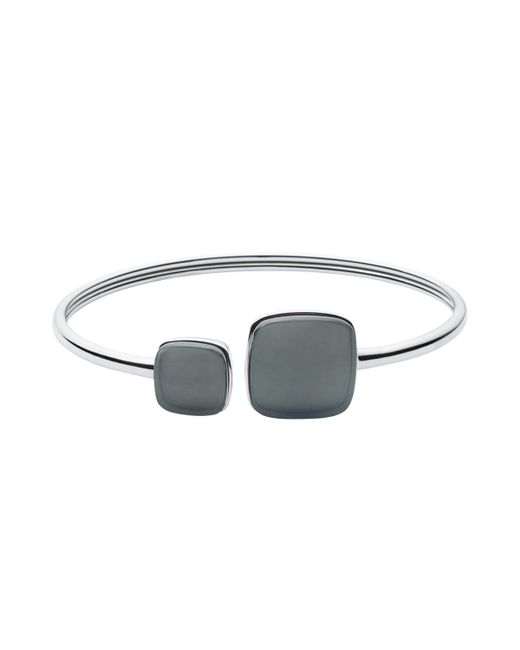 Skagen - Multicolor Sea Glass Open End Bangle - Lyst