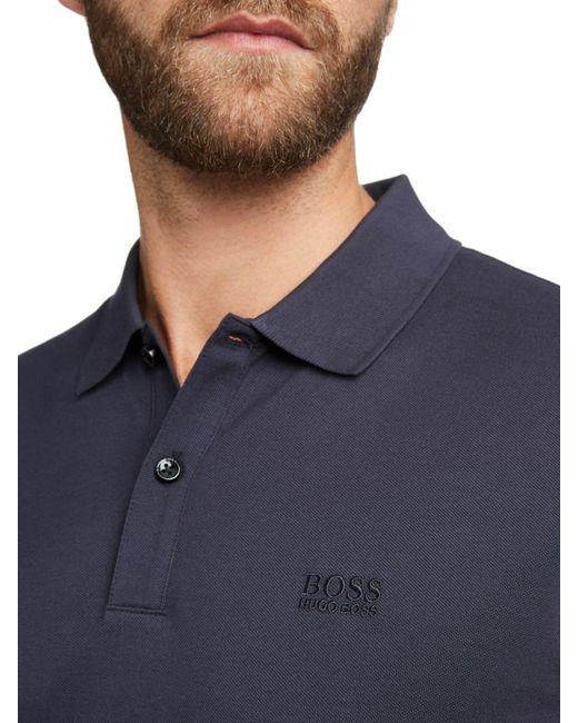 9c734dd2c72a ... BOSS - Blue Boss Pallas Regular Fit Polo Shirt for Men - Lyst