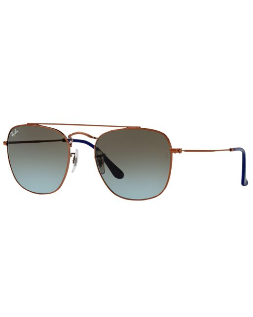 Ray-Ban - Blue Rb3557 Square Sunglasses - Lyst
