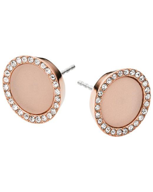 Michael Kors | Pink Stud Earrings | Lyst