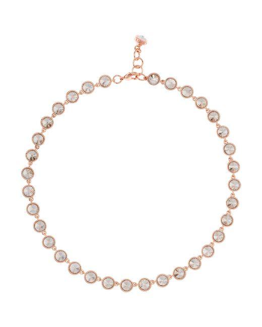 Ted Baker | Metallic Rosele Rivoli Crystal Single Row Necklace | Lyst