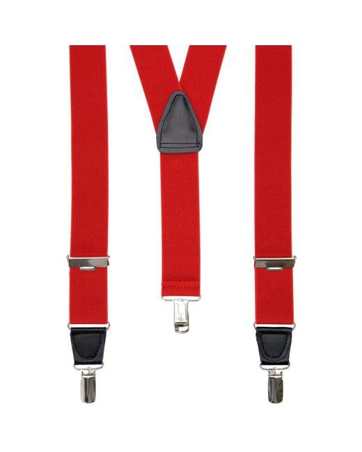 John Lewis | Red Wide Braces for Men | Lyst