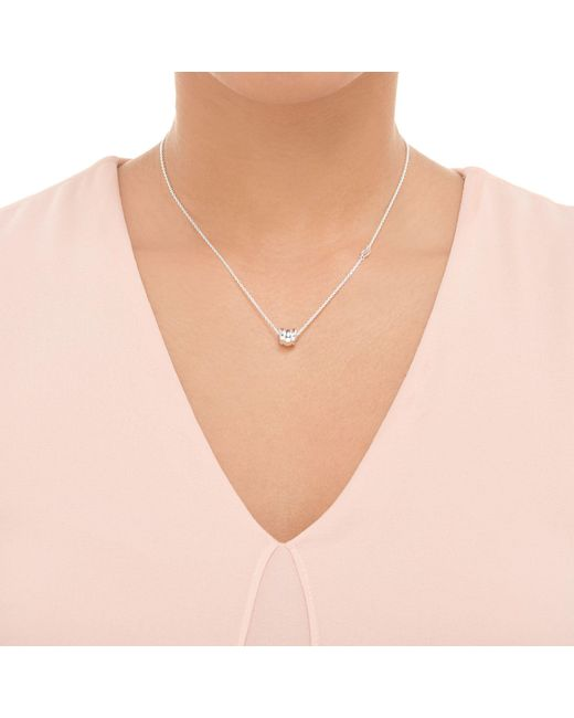 John Lewis - Metallic Links Of London Sterling Silver Sweetie Signature Pendant Necklace - Lyst