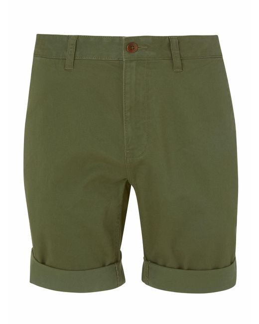 e7c2244f ... Tommy Hilfiger - Green Tommy Jeans Essential Chino Shorts for Men -  Lyst ...