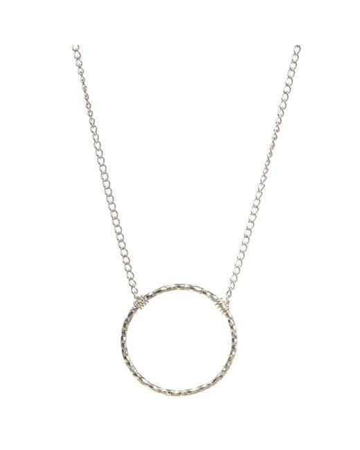 Dogeared | Metallic Medium Sparkle Karma Necklace | Lyst