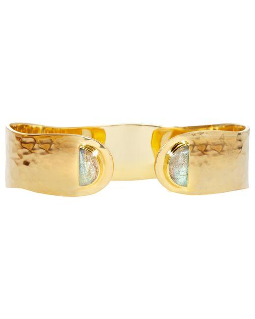 Auren | Metallic Labradorite Hammered Cuff | Lyst