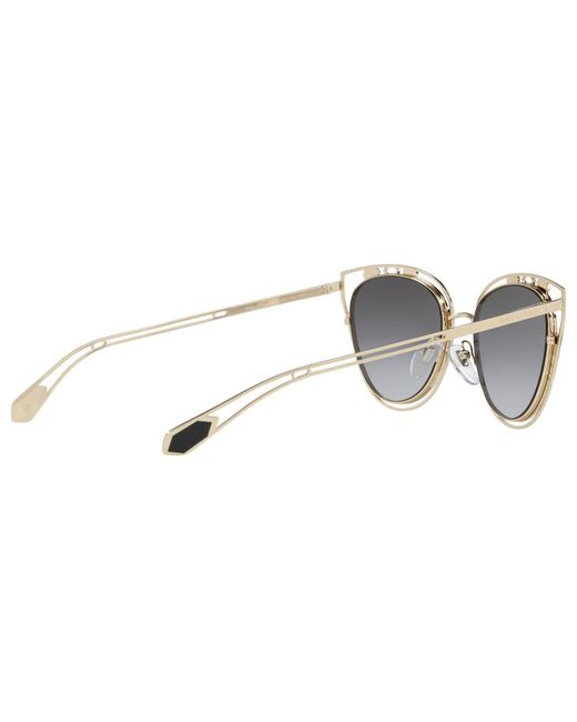 4165285efd9bc ... Lyst BVLGARI - Multicolor Bv6104 Women s Cat s Eyes Sunglasses ...