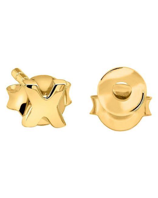 Missoma | Metallic 18ct Gold Vermeil Hug Kiss Stud Earrings | Lyst