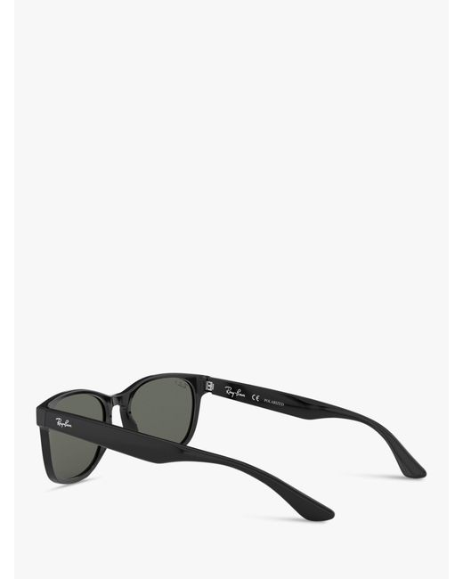 79ff2cb50b ... Lyst Ray-Ban - Black Rb2184 Women s Polarised Square Sunglasses ...