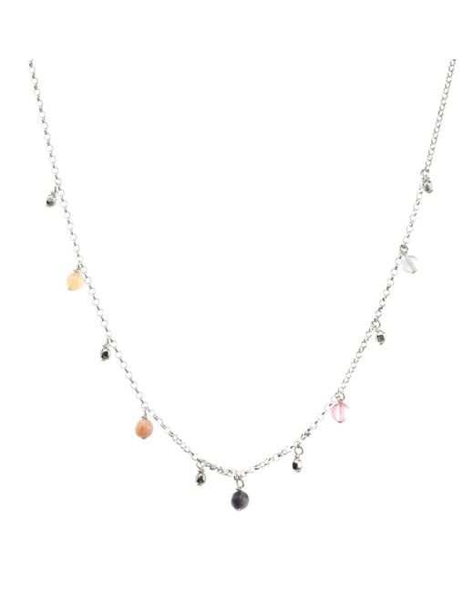 Dogeared | Multicolor Love Gems Chain Necklace | Lyst