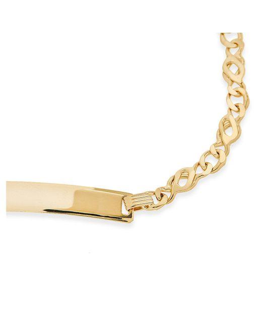 John Lewis - Metallic Ibb 9ct Gold Celtic Id Bracelet - Lyst