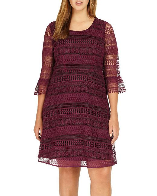 Studio 8 - Purple Demelza Lace Dress - Lyst