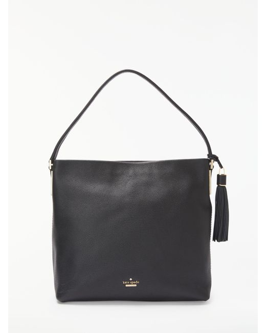 Kate Spade | Black Cameron Street Natalya Small Leather Satchel | Lyst