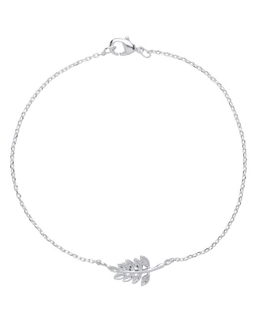 Estella Bartlett | Metallic Fern Leaf Chain Bracelet | Lyst