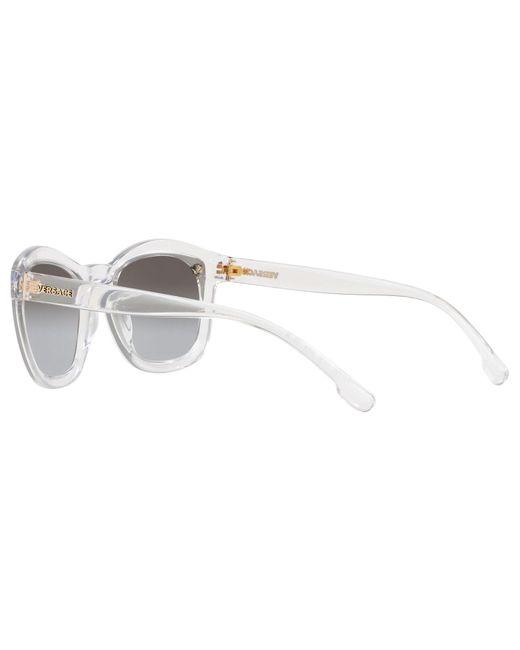 2d1972f14a402 Versace Ve4350 Women s Sunglasses in Gray - Lyst
