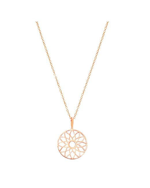 Auren | Pink Dreamcatcher Pendant Necklace | Lyst