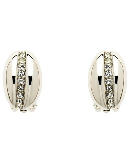 Monet   Metallic Crystal Bombay Clip-on Earrings   Lyst