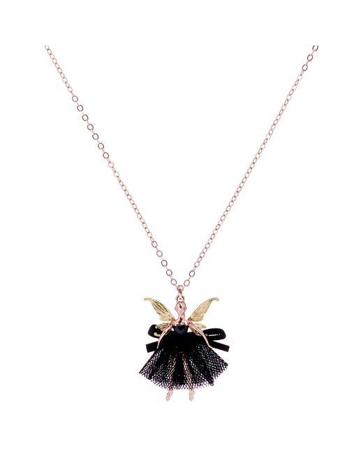 Ted Baker | Metallic Faylinn Mini Fairy Ballerina Pendant Necklace | Lyst
