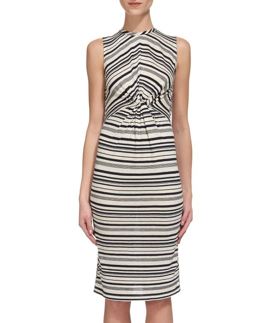 Whistles | Multicolor Carrie Stripe Jersey Dress | Lyst