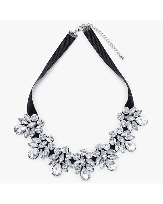 John Lewis | Metallic Crystal Statement Necklace | Lyst