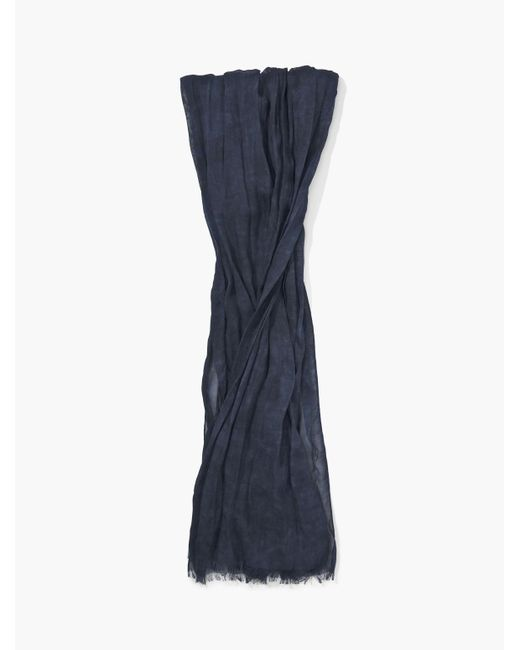 John Varvatos - Blue Woven Muted Patterned Scarf for Men - Lyst