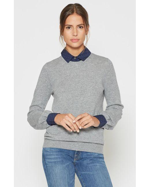 Joie - Gray Bahiti Layered Sweater - Lyst
