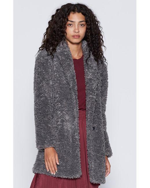 Joie   Gray Kavasia Faux Fur Jacket   Lyst