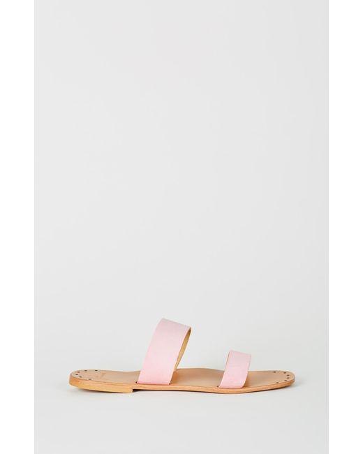 5b1a8ba12d4c ... Joie - Pink Bannerly Sandal - Lyst ...