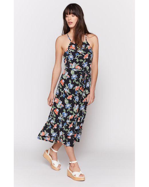 Joie - Blue Deme Silk Dress - Lyst
