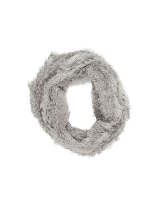 Joie | Gray Lonica Fur Scarf | Lyst