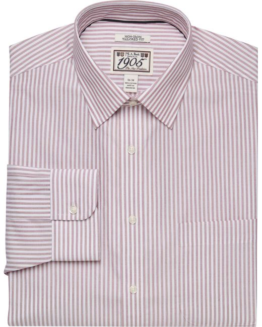 Lyst jos a bank 1905 collection tailored fit spread for Joseph banks dress shirts